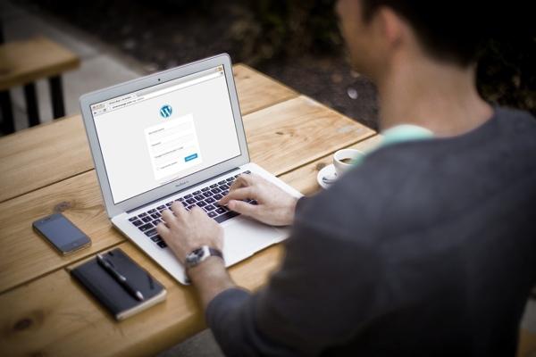 WordPress-Login mit aktiviertem Google Authenticator-Plugin